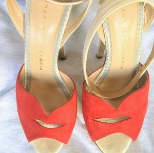 Charlotte Olympia Red Lips Pumps
